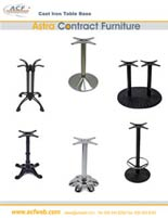 Cast Iron Table Base Catalog